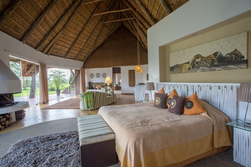 Room at Solio Lodge