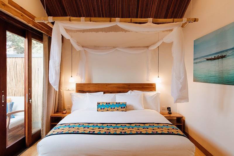 Interior photography for luxury hotel Heaven Retreat in Kigali, Rwanda.