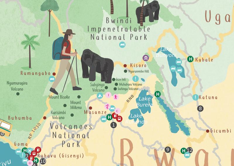Explore_Rwanda-Tourist-Map