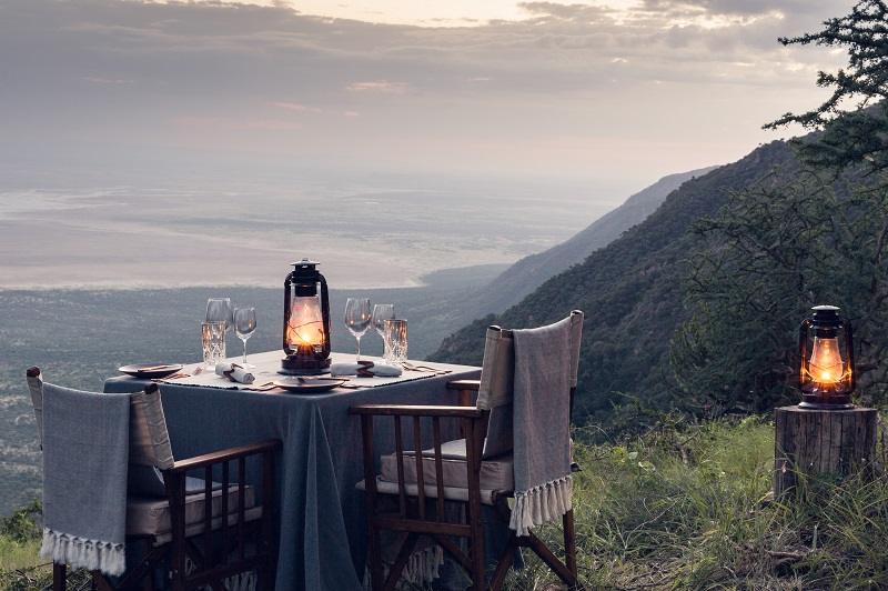 Explore Mila Tented – Fly camping Dinner