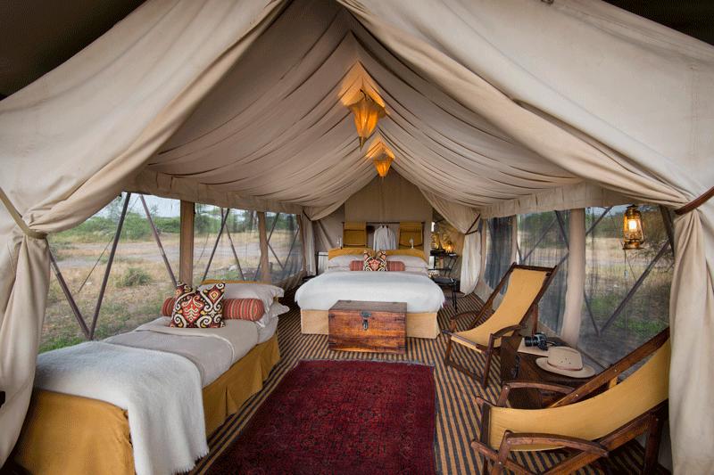 Explore-Tent-interior-triple-andBeyond-Serengeti-Under-Canvas